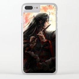Mo Dao Zu Shi Wei Wuxian Clear iPhone Case