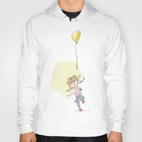 balloon Hoodies featuring Balloon by Yavor Popov