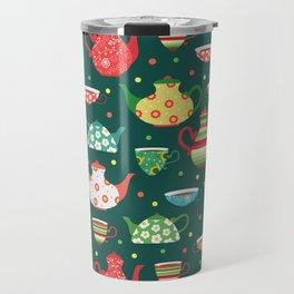 Tea pattern Travel Mug