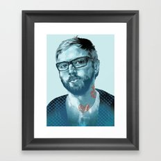 Dallas Green Framed Art Print