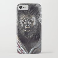 werewolf iPhone & iPod Cases featuring Werewolf by Jeff B. Harris
