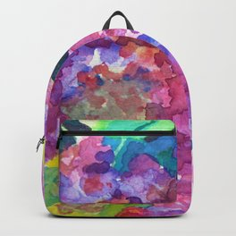 Bold Color Lilacs Backpack