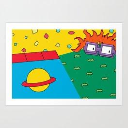 RUGRAT Art Print