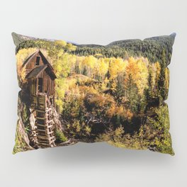 Colorado Autumn at Crystal Mill Pillow Sham