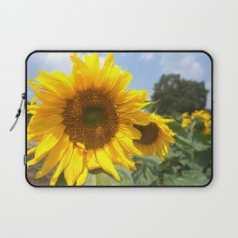 sunflower photography Laptop Sleeve