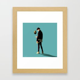 Who are you Framed Art Print