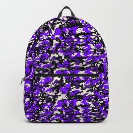 TCR-CAMO PRINT back pack -grape Backpack