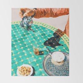 Chai #painting #digitalart Throw Blanket