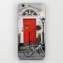 Dublin Bycicle iPhone Skin