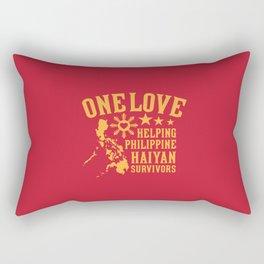 HAIYAN FUND RAISER Rectangular Pillow