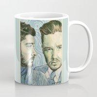 van gogh Mugs featuring Ziam /Van Gogh inspired/ by Peek At My Dreams