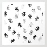 Day 035 | #margotsdailypattern Art Print