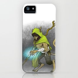 Wolf Mage iPhone Case