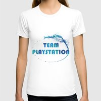 playstation T-shirts featuring Team Playstation by Bradley Bailey