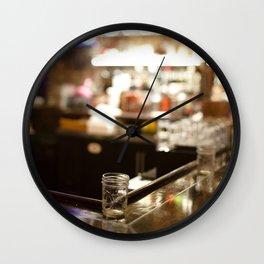 Bokeh Lights Wall Clock
