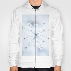Beautiful Dry Flower with Ice Crystals Hoody