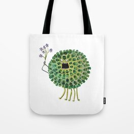 Poofy Plactus Tote Bag