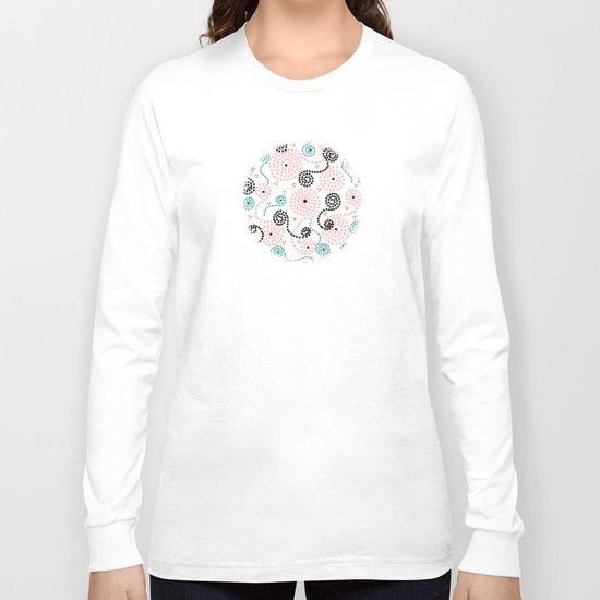Spiralocity in Pink Long Sleeve T-shirt