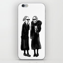 mary-kate n ashley 4 eva iPhone Skin