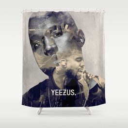 YEE ZUS - the only rapper compared to michael Shower Curtain