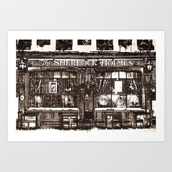 The Sherlock Holmes Pub London Art Print