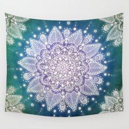 Peacock Mandala Wall Tapestry