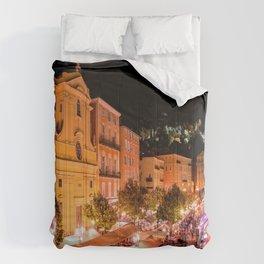 Cours Saleya Evening In Vieux Nice Comforters