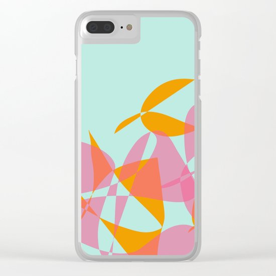 Poplay 1 Clear iPhone Case