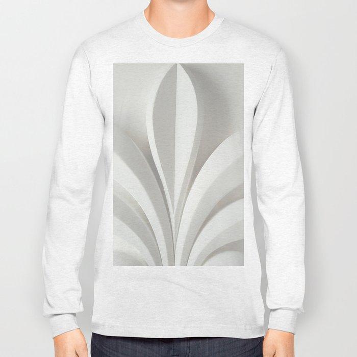 White sculpture Long Sleeve T-shirt