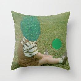 Son Of Green Throw Pillow