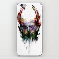 loki iPhone & iPod Skins featuring loki by ururuty