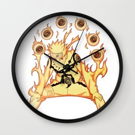 Naruto ARt Wall Clock