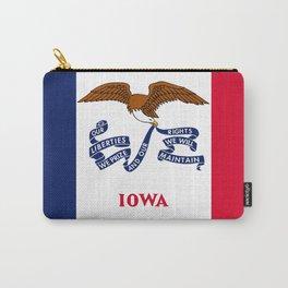 flag of Iowa, america, usa, midwest,Council Bluffs, Iowan,Des Moines,Cedar Rapids,Davenport,sioux Carry-All Pouch