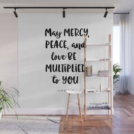 Jude 1:2 - Bible Verse Wall Mural