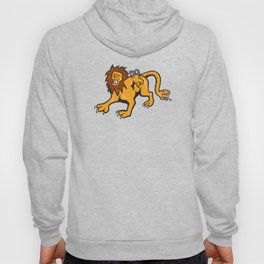 Chimera Attacking Front Cartoon Hoody