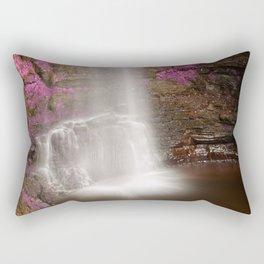 Pink Glencar Falls Rectangular Pillow