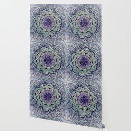 Mandala Violet Wallpaper