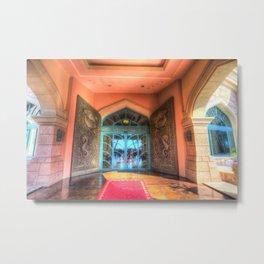 Atlantis Palm Hotel Dubai Metal Print