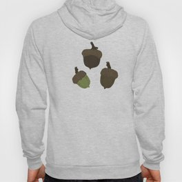 Northern Pin Oak Acorns from the Pacific Northwest Hoody