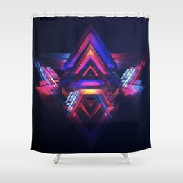 Occasionally Colored Life Shower Curtain