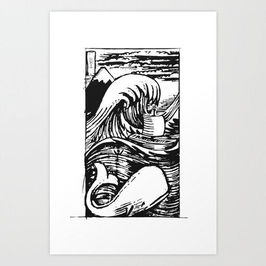 I AM JONAH Art Print