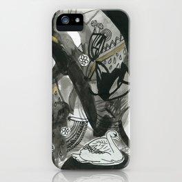 Swan Dreams iPhone Case