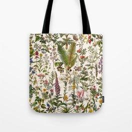 Adolphe Millot - Plantes Medicinales B - French vintage poster Tote Bag