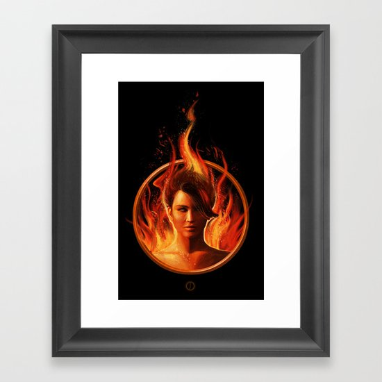 THE MOCKINGJAY Framed Art Print