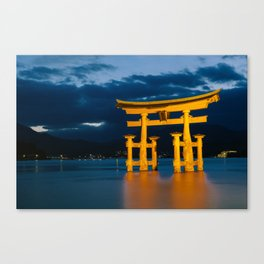 Itsukushima Shrine Canvas Print