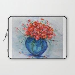 Blue Vase Laptop Sleeve