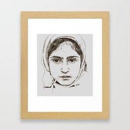 Kashmir Dairies Framed Art Print