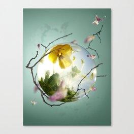 Green food Canvas Print
