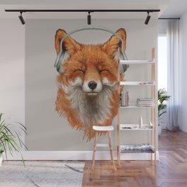 The Musical Fox Wall Mural