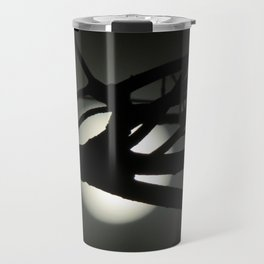 Tree and Moon Silhouette Travel Mug